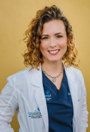 Dr. Jessica Stine is board certified in veterinary ophthalmology.