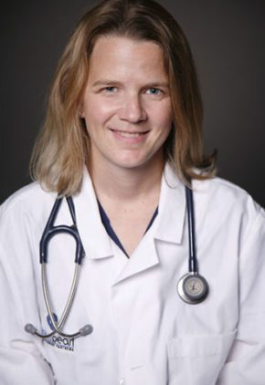 Dr. Kate Elliott is an emergency medicine veterinarian.