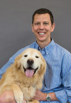 Dr. Bradley Book is board certified in veterinary emergency and critical care medicine.