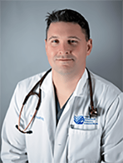 Dr. Roy Barnes is board certified in small animal surgery.