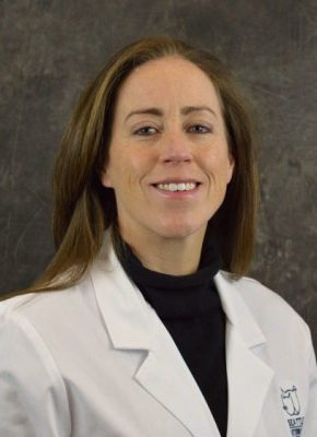 Dr. Kelly Blackstock is board certified in veterinary emergency and critical care medicine.