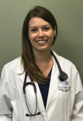 Dr. Sarah Zelinski is an emergency medicine veterinarian.