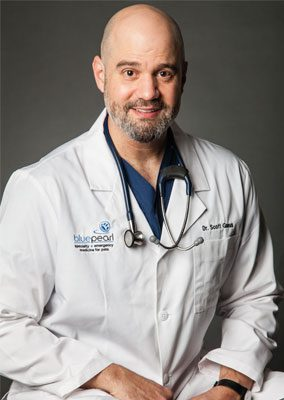 Dr. Jeffrey Ganus is emergency medicine veterinarian.