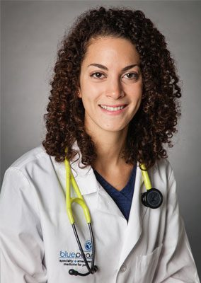 Dr. Stephanie Silberstang is an emergency medicine veterinarian.